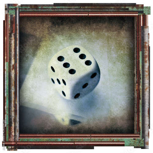 six dice artwork