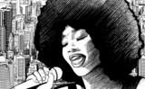 Fototapety jazz singer