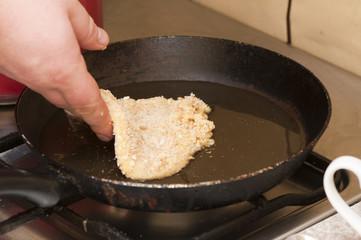 fry chops