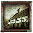 tudor cottage print
