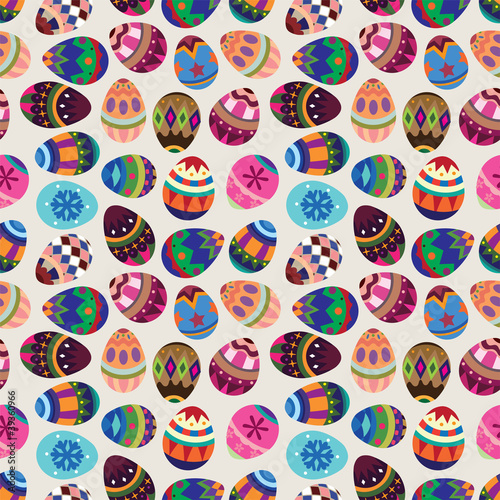 seamless Easter Egg pattern