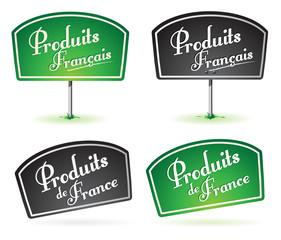 pancarte : produits français, produit de France
