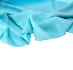 Abstract background blue silk fabric
