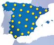 Mapa climático de España : Sol