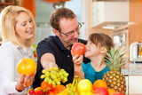 Family and healthy nutrition