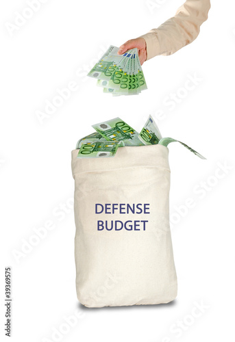 Bag with defense budget