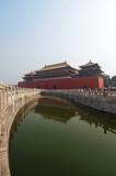Meridian Gate, Forbidden City, Beijing, China poster