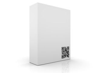 Software Box with QR Code
