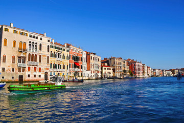 Beautiful view of Grand Canal, Venice