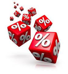Prozente-Würfel