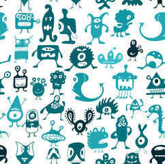 Doodle monsters
