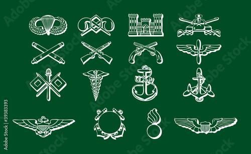 Insignias fuerzas armadas