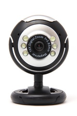 webcamera classic black isolated