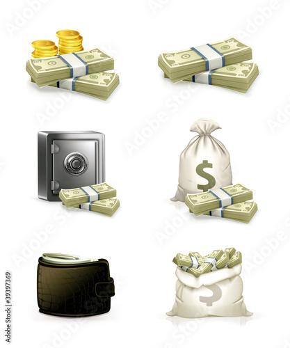 Paper money, set