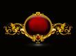 Red Vintage Frame
