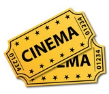 Two cinema tickets.