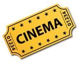 One single cinema ticket.