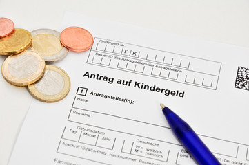 Antrag auf Kindergeld