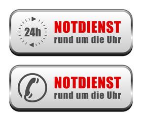 Buttons Notdienst