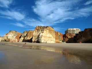Portimao-resort on the Atlantic coast of the Algarve