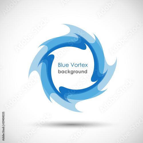 Logo Blue Vortex # Vector