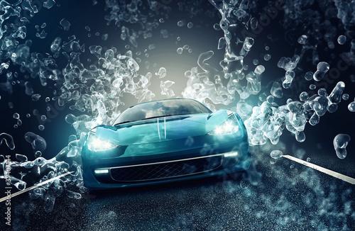 Leinwandbild Motiv Car Wash