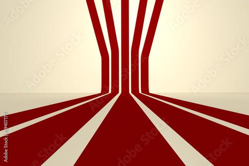 retro stripes