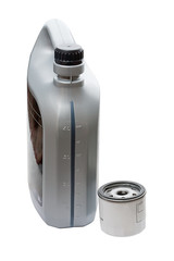 Filter and a canister