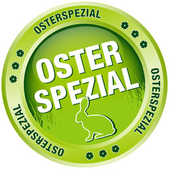Button Osterspezial Osterhase
