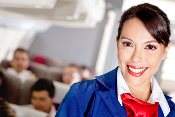 Air stewardess
