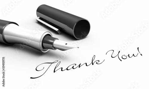 Thank You! - Stift Konzept