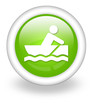 "Light Green Icon ""Rowboating"""