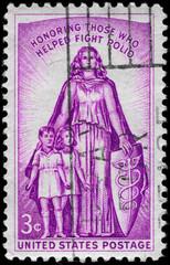 USA - CIRCA 1957 Allegory
