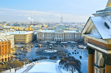 View of St.-Petersburg from St.Isaac's Catedral