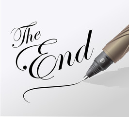 la fin d'un film