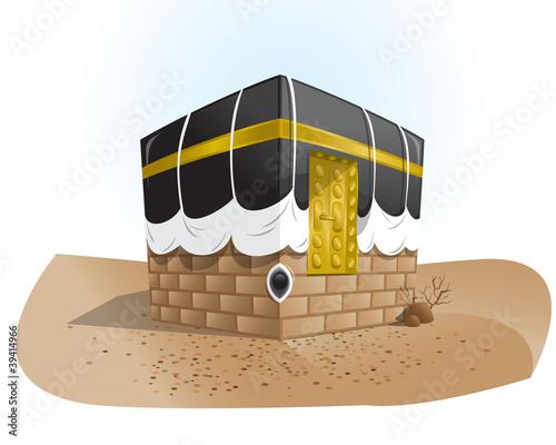 Vector Haram Mosque Kaba 1