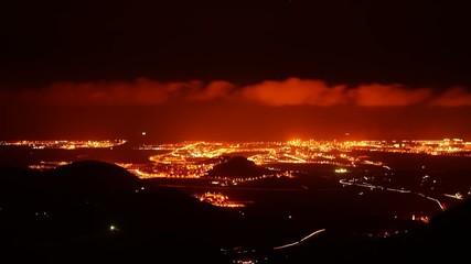 City night panorama