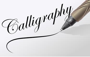 écrire de la calligraphie