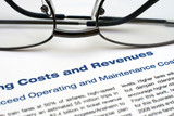 Operating costs and revenues poster