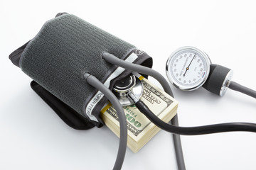 High pressure financial situation
