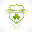 st patrick's day label vector