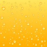 Fototapety Yellow drops