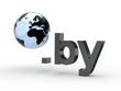 3D Domain by mit Weltkugel