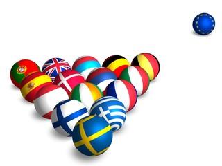 Euroballs (on white)