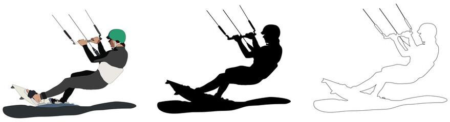 plaisir du kite surf