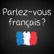 Kreidetafel, Parlez-vous francais