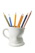 Coffee Mug with Pencils