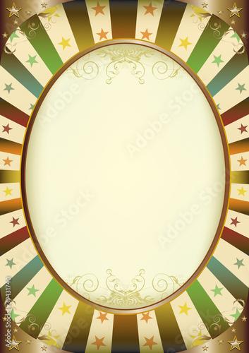 Multicolor Sunbeans frame poster