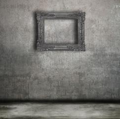 quadro e parete vintage