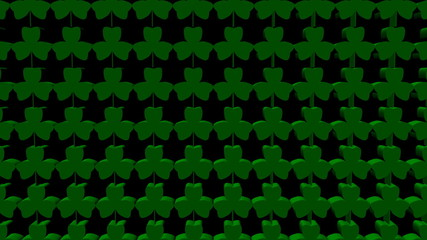shamrock background animation